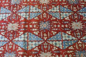 C-029 Multi color patter rug - 12'2