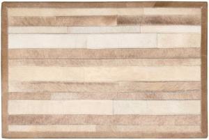 Handmade Cowhide Stripes ARP-01 Color Beige