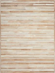Handmade Cowhide Stripes ARP-01 Color Beige