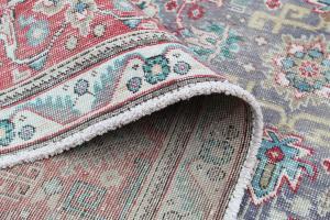 63259 Vintage Persian Tabriz 9'6