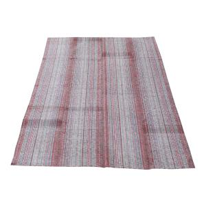 61644 Persian Striped Kilim Rug- 7′×10′2″