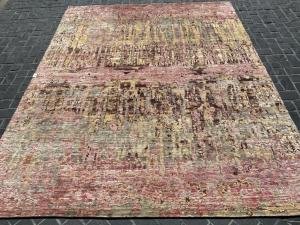 #63427 Modern Wool and Bamboo Silk 7'10