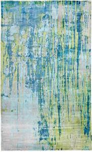 Artisan 5X8 1604-155 Turquoise/Lime