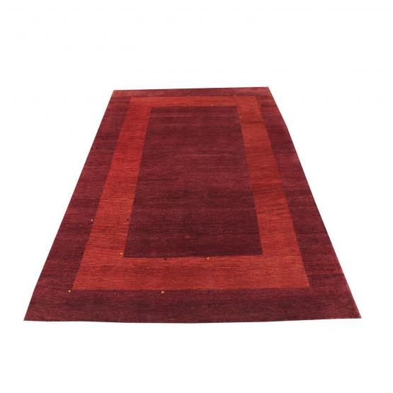 Hand Made Gabbeh Design Rug - 6′3″ × 9′5″
