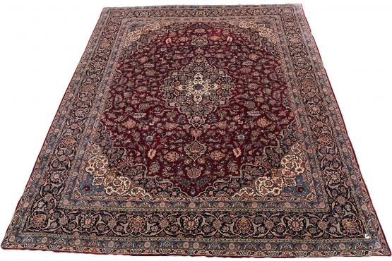 Traditional Kashan Rug 10'7