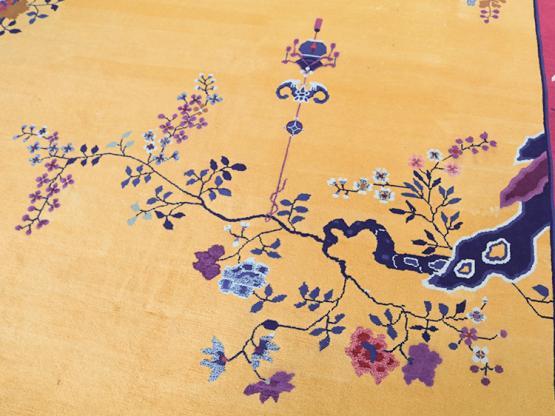 34902 Chinese Art Deco 9x11
