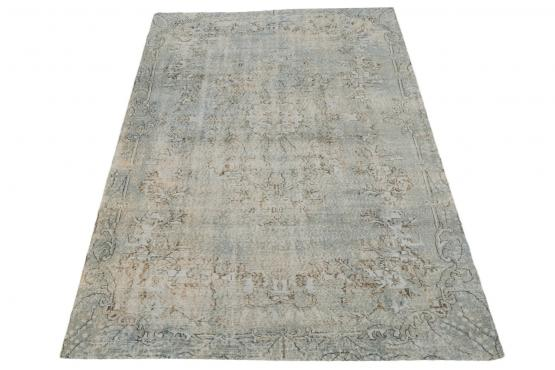 37889 Distressed Vintage Turkish 10'2