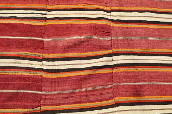 37892 Striped Old Persian Kilim - 5