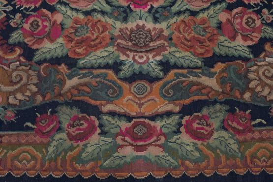 37905 European Moldavia Old Kilim 10'x7'