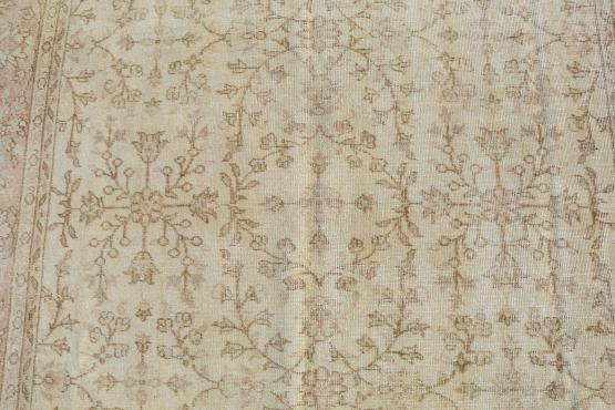 38315 Vintage Decorative Turkish 7'x9'9
