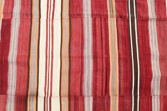 38319 Multi color Stripe Kilim 5'1
