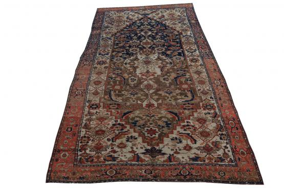 39163 Antique Malayer 7.6x15.4