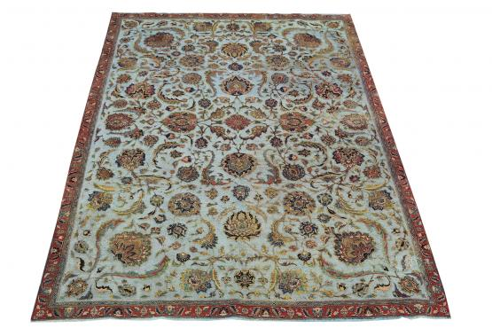 40126 Tabriz One of a Kind Persian Rug 7'7