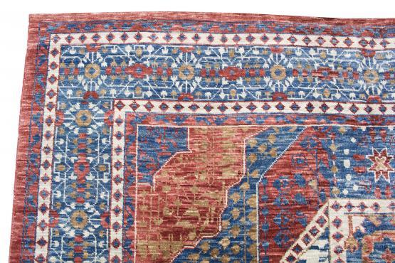 61424 Hand Made Anatolian AN-62324 Wool Red 10'4