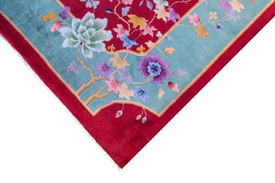 50046 Antique Chinese Rug 8'10
