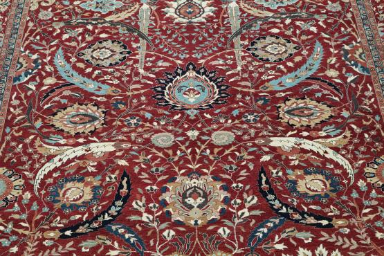 52296B Multi Color traditional rug 9'10