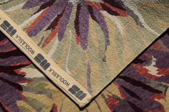 54193 Nepalese Wool and Silk Sample Sale 8'x10'