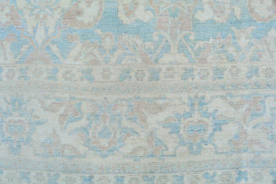 54427 Antique Oushak design rug 9'11
