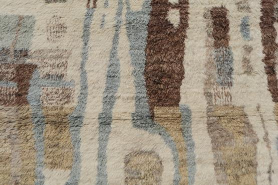 54437 Shaggy Moroccan 9.8x13.7