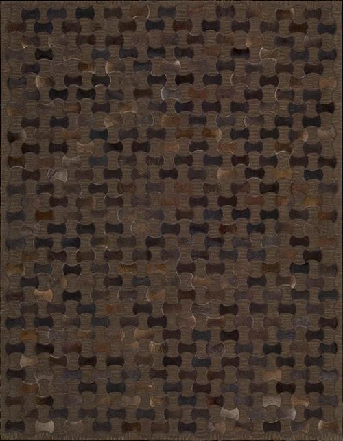 54693 Nourison Chicago CHI01 Chocolate 5'3