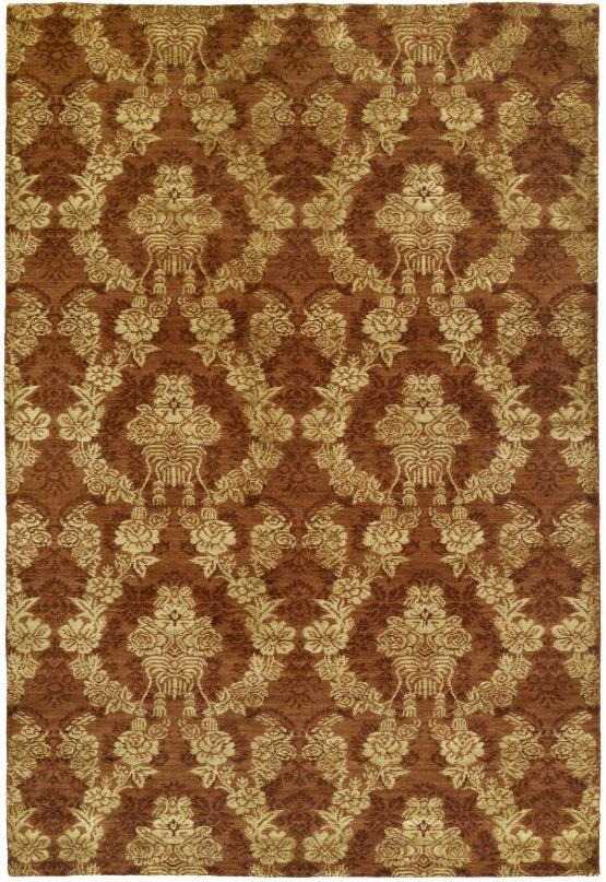 55112 Gramercy Rug Color Autumn Spice 6'x9'