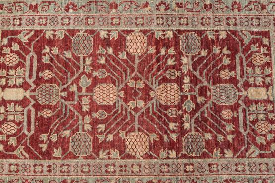 55316 Afghani Hand-Knotted Rug3
