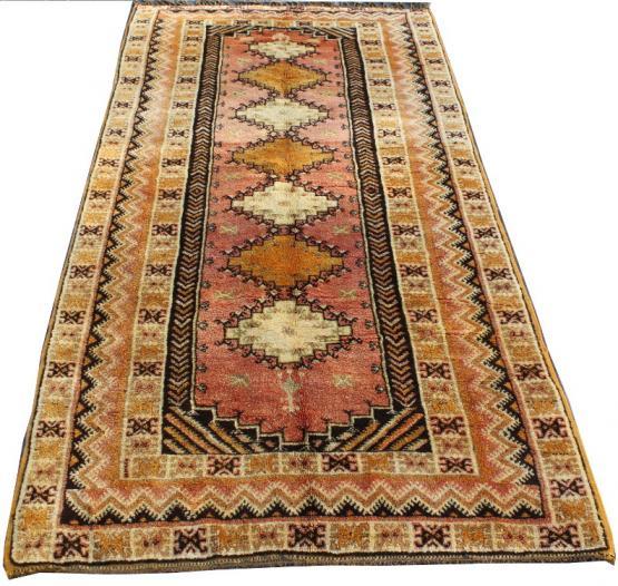 55720 Vintage Berber 4.08x9.06