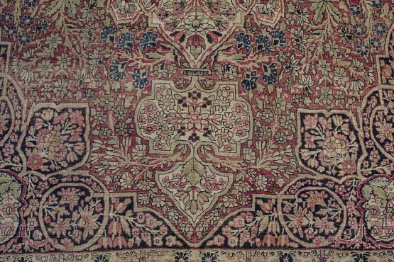 56059 Antique Kerman 8 7x14 The Rug Warehouse