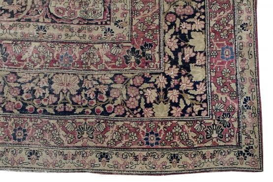 56059 Antique Kerman 8.7x14