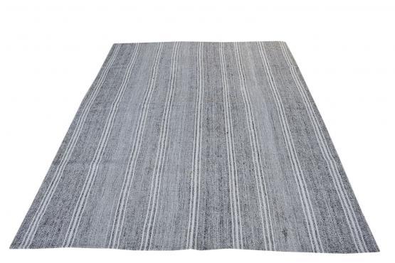 56366 Large Vintage Turkish Flat-Weave Kilim Rug Size 10'x7'4