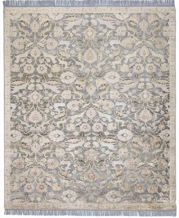56821 Handmade Wool and Silk 8X10