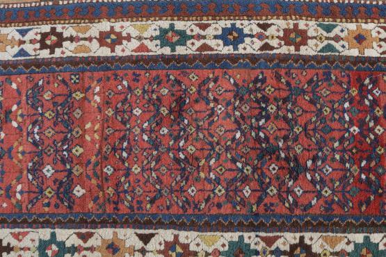 57313 Antique Western Iran Persian Turdish Rug