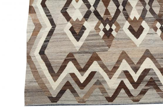 57543 Vintage Turkish Kilim Rug - 5