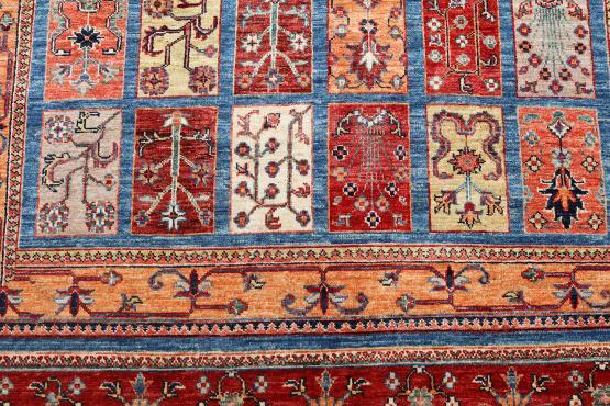 57583 Wool fiber Bathtiari 6'x9'