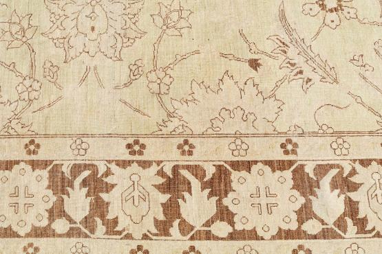 57642 antique Oushak design rug 13'5