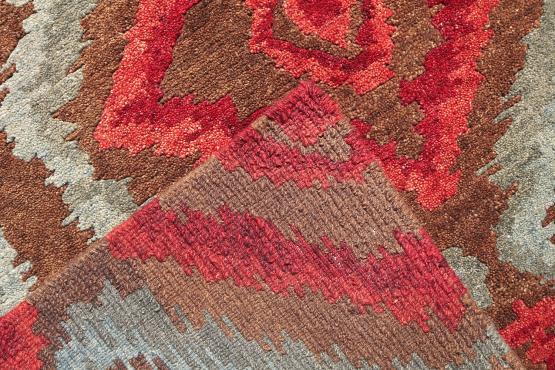 57777 Multi Color Modern Rug Size 7'9