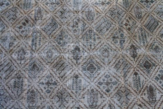 58463 Vintage Persian Hand knotted Rug