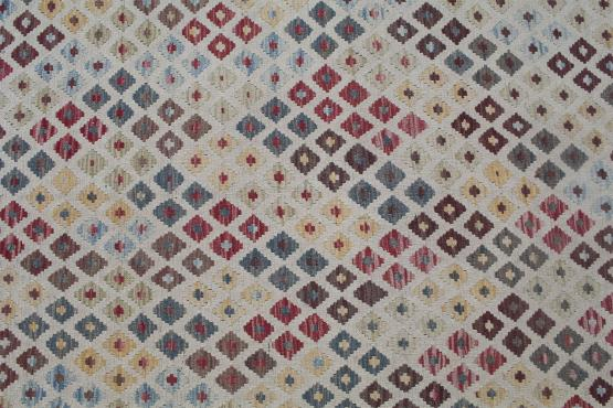 58684 Flatweave multi color kilim 10'4