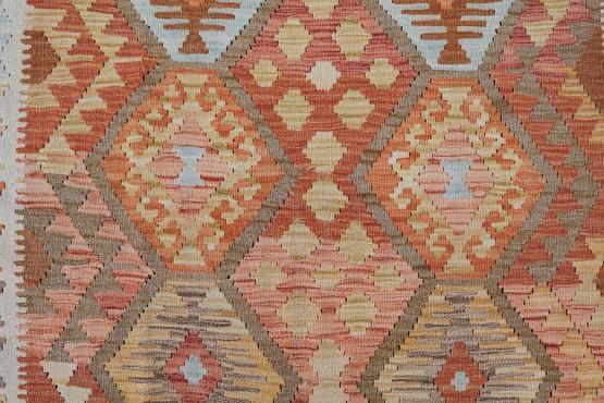 58709 Handmade Dyed Kilim Rug- 5