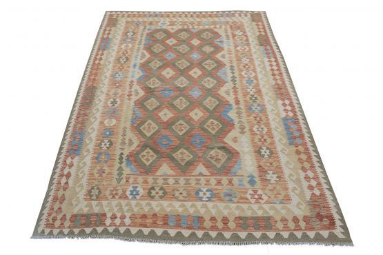58729 Afghani Flatweave Kilim 6'3