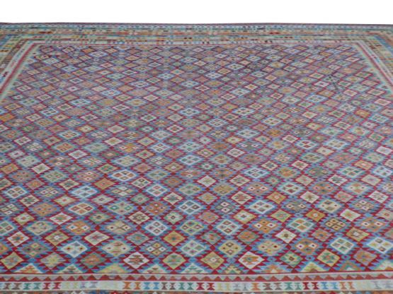 58754 Afgan kilim Oversize Rug 20'1