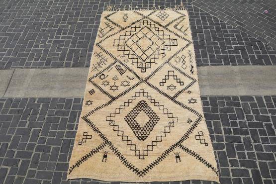 58820 Beige warm Morocco berber 5'8