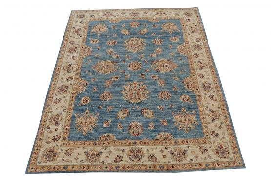 59018 Hand Knotted Pakistani 4'11