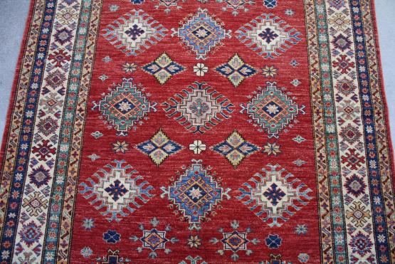 59031 Hand Knotted Pakistani 4'10