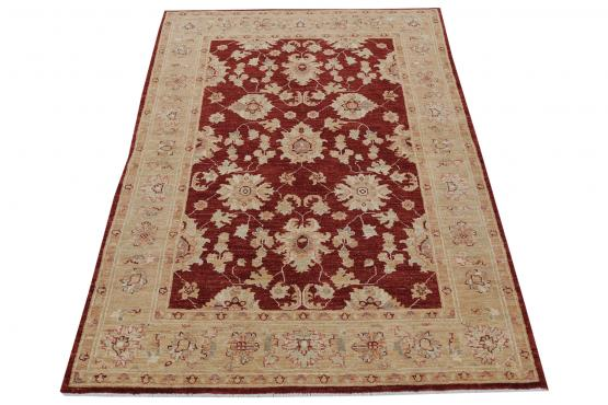 59039 Pakistani Hand-Knotted Rug 4′3″ × 5′11″