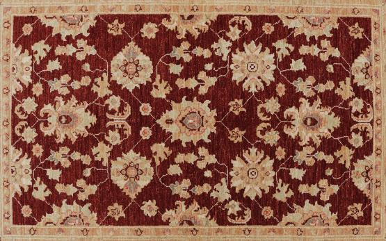 59039 Pakistani Hand-Knotted Rug 4