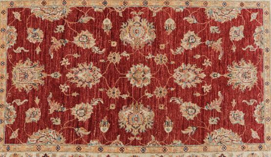 59047 Hand Knotted Pakistan Rug 3'11