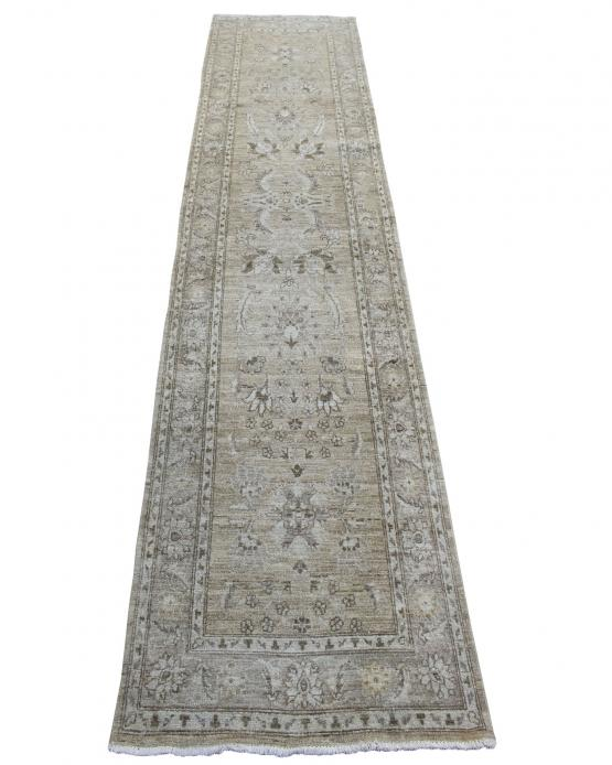 59078 Hand Knotted Peshawar 2'9