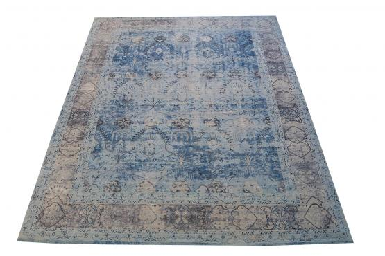 59103 Wool and Silk Rug Size 9'x12'