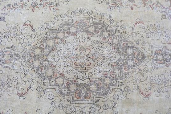 59180 Vintage Persian Rug Size 9'6